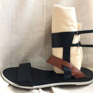 Zara High Ankle Strap Gladiator Sandal